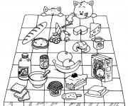 Coloriage Aliments 6