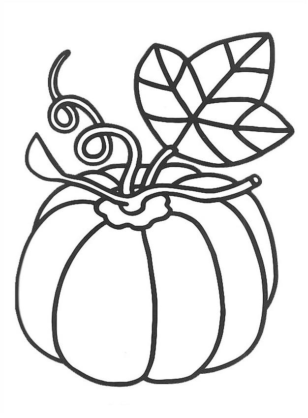Coloriage et dessins gratuits Aliments Citrouille à imprimer