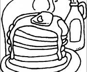 Coloriage et dessins gratuit Aliments délicieux à imprimer