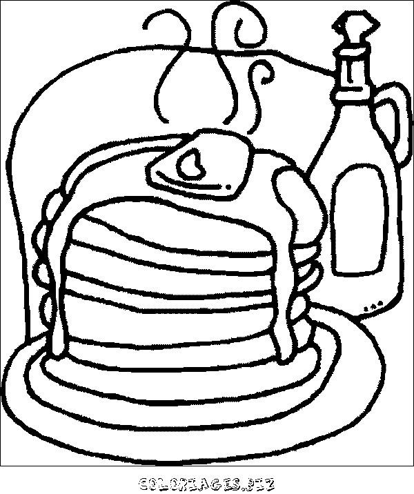 Coloriage et dessins gratuits Aliments délicieux à imprimer