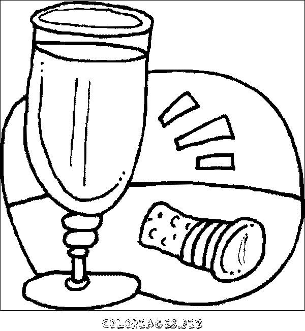 Coloriage et dessins gratuits Aliments maternelle à imprimer