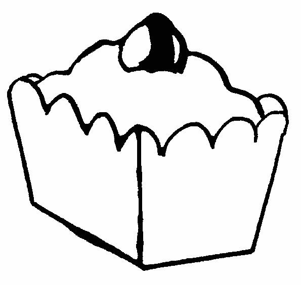 Coloriage et dessins gratuits Aliments Tarte à imprimer