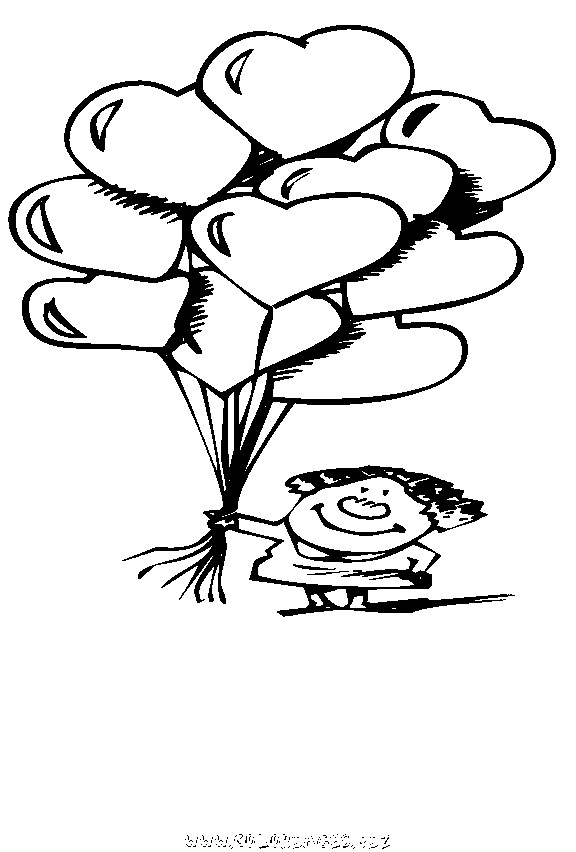 Coloriage et dessins gratuits Amoureux humoristique à imprimer