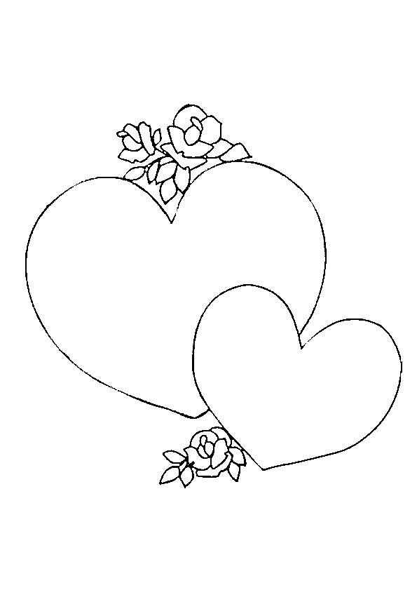 Coloriage Coeur D Amour à Télécharger