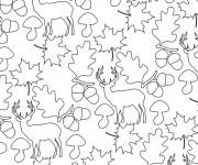 Coloriage et dessins gratuit Anti-Stress Animaux à imprimer