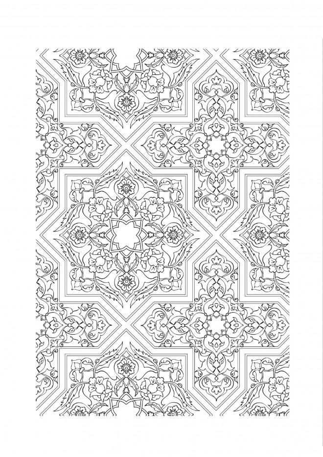 Coloriage et dessins gratuits Anti-Stress Art à imprimer