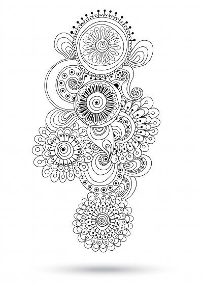 Coloriage et dessins gratuits Anti-Stress Artistique pour Adulte à imprimer