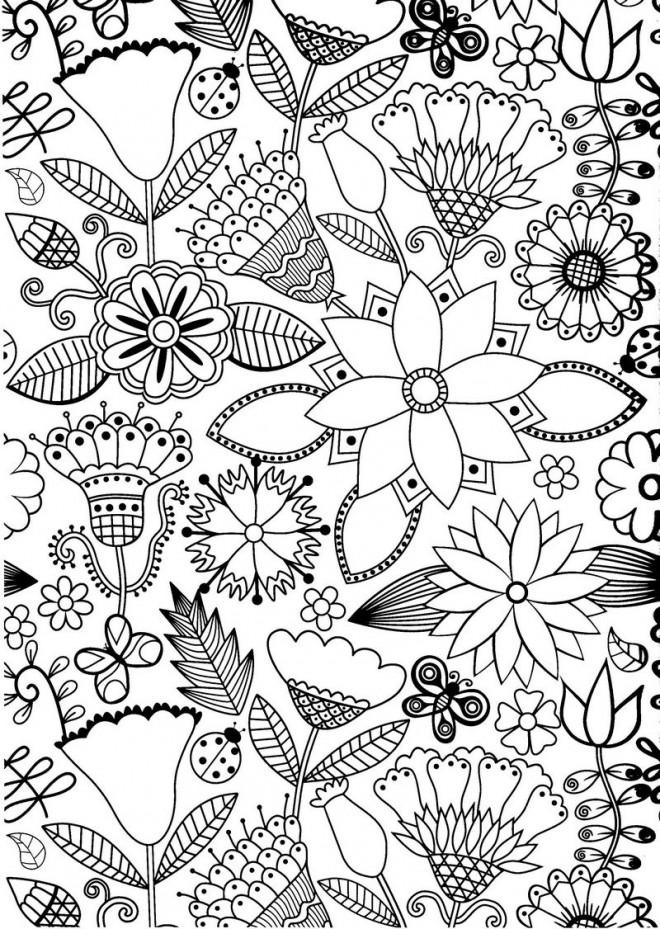 Coloriage et dessins gratuits Anti-Stress Avis à imprimer