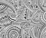 Coloriage et dessins gratuit Anti-Stress créative à imprimer