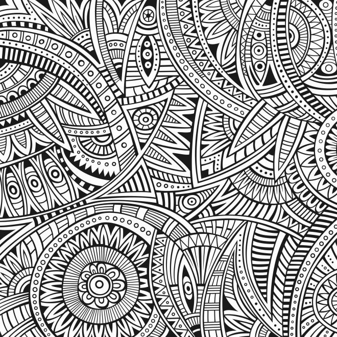 Coloriage et dessins gratuits Anti-Stress créative à imprimer