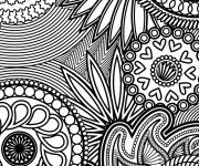 Coloriage et dessins gratuit Anti-Stress en ligne à imprimer