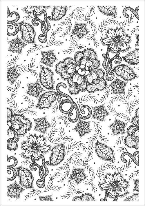 Coloriage et dessins gratuits Anti-Stress en noir et blanc à imprimer