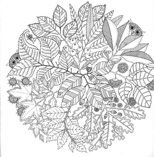 Coloriage Arbre Anti Stress.Coloriage Anti Stress Therapeutique Dessin Gratuit A Imprimer
