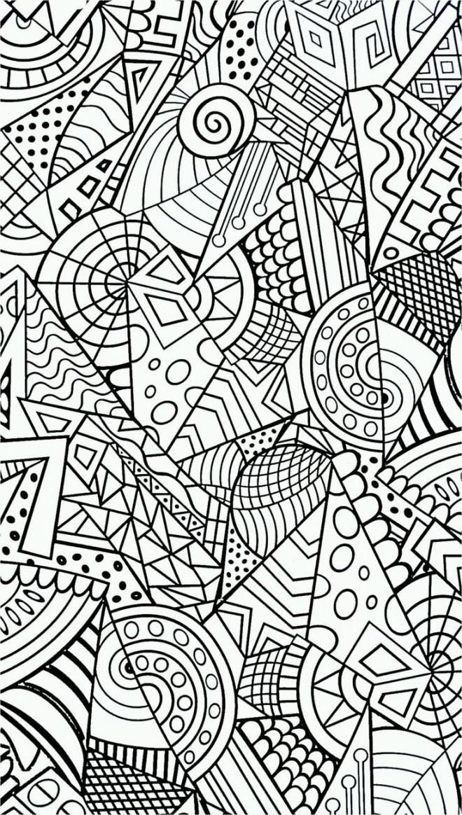 Coloriage et dessins gratuits Art Anti-Stress à colorier à imprimer