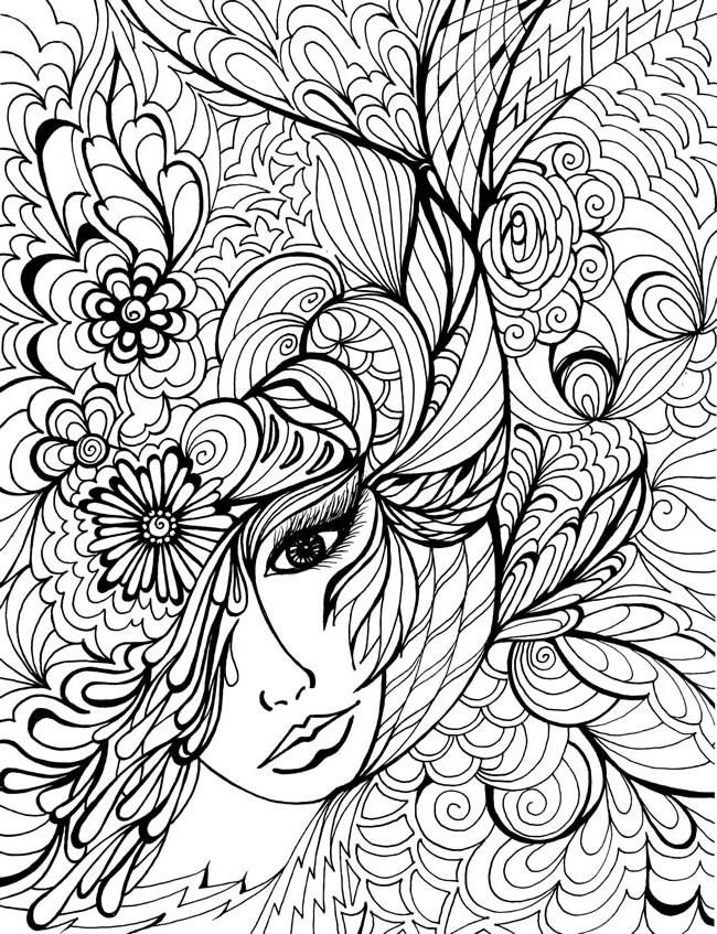 Coloriage et dessins gratuits Fleur Mandala Signification à imprimer