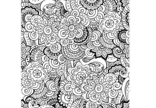 Coloriage Mandala Adulte Anti Stress Dessin Gratuit A Imprimer
