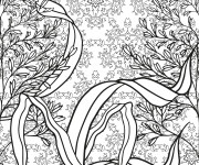 Coloriage Nature Anti-Stress