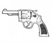 Coloriage et dessins gratuit Arme à Feu à imprimer