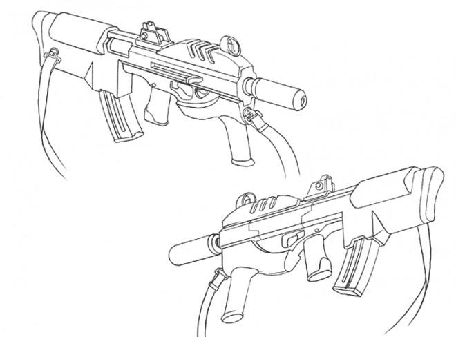 Coloriage et dessins gratuits Arme de Guerre à imprimer