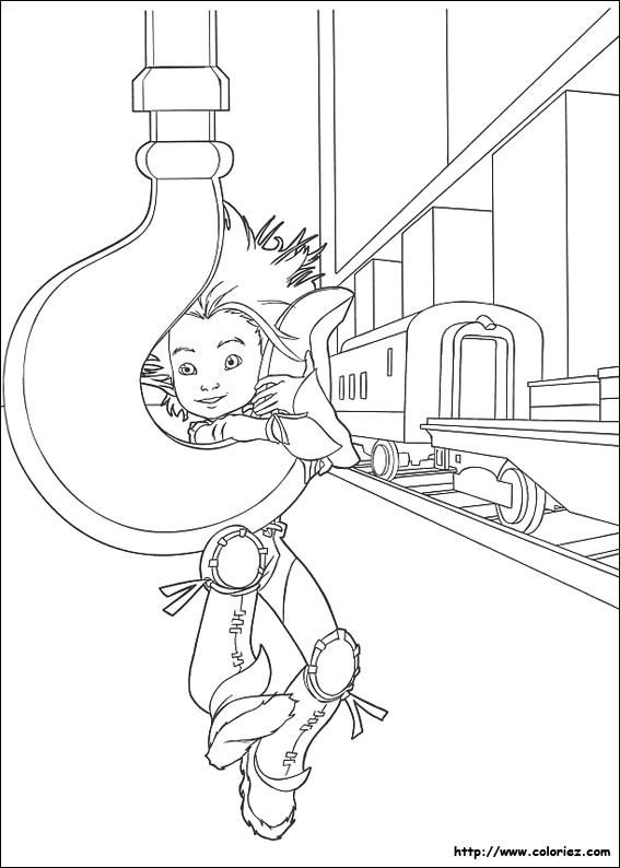 Coloriage et dessins gratuits Armes Dessin animé à imprimer