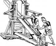 Coloriage et dessins gratuit Armes romaines à imprimer
