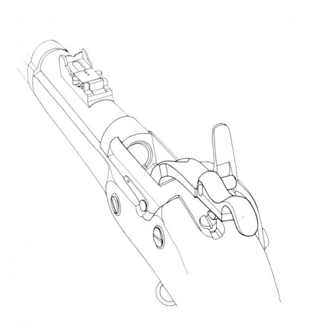 Coloriage et dessins gratuits Fusil à Feu à imprimer