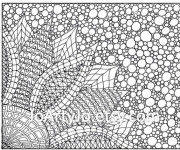 Coloriage dessin  Art Thérapie 20