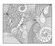 Coloriage dessin  Art Thérapie 6