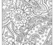Coloriage dessin  Art Thérapie 7
