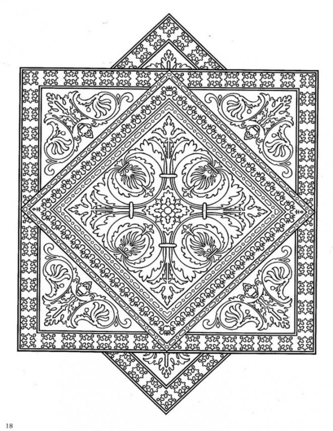Coloriage et dessins gratuits Art Thérapeutique à imprimer