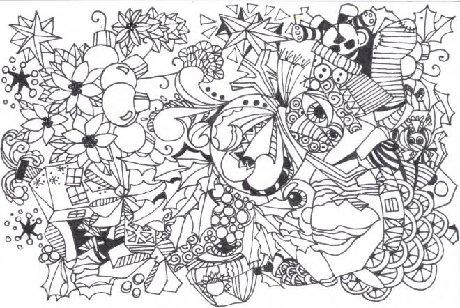 Coloriage et dessins gratuits Art Thérapie adorable à imprimer