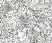 Coloriage et dessins gratuit Art Thérapie couleur à imprimer