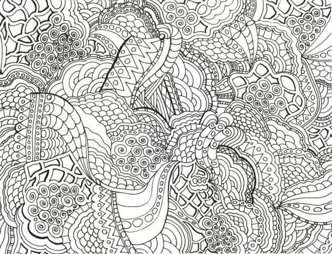 Coloriage et dessins gratuits Art Thérapie couleur à imprimer