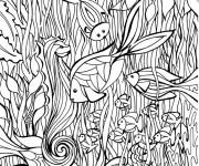 Coloriage et dessins gratuit Art Thérapie La Mer à imprimer
