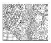 Coloriage et dessins gratuit Art Thérapie maternelle à imprimer