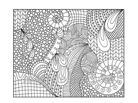 Coloriage et dessins gratuits Art Thérapie maternelle à imprimer