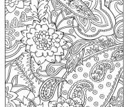 Coloriage et dessins gratuit Art Thérapie naturel à imprimer