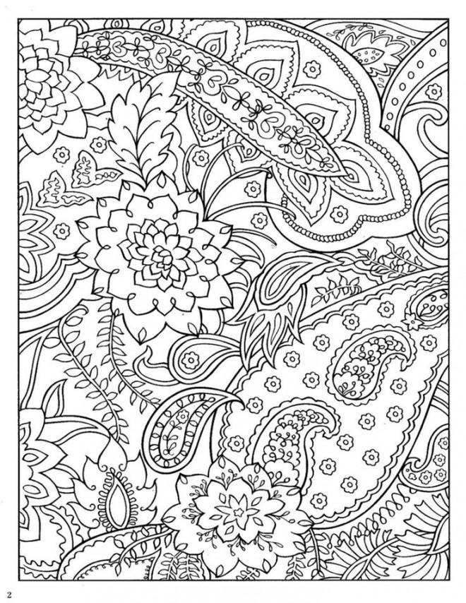 Coloriage et dessins gratuits Art Thérapie naturel à imprimer