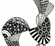 Coloriage et dessins gratuit Art Thérapie pour relaxer à imprimer