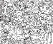 Coloriage Art Thérapie pour se détendre