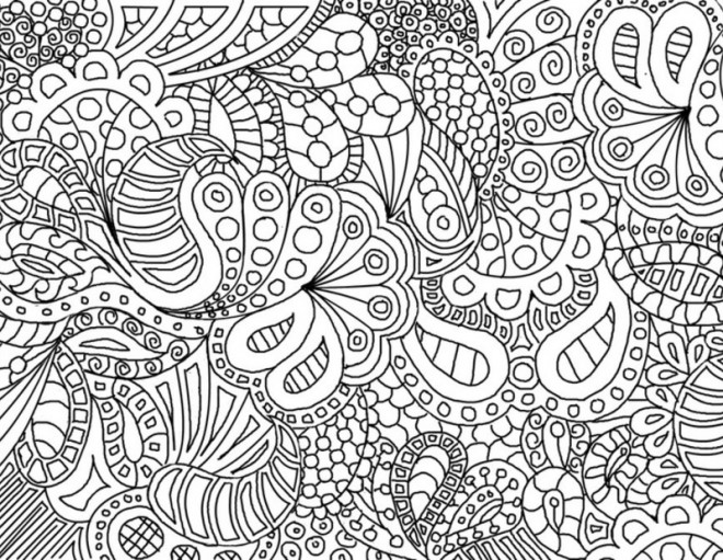 Coloriage et dessins gratuits Art Thérapie relaxant à imprimer