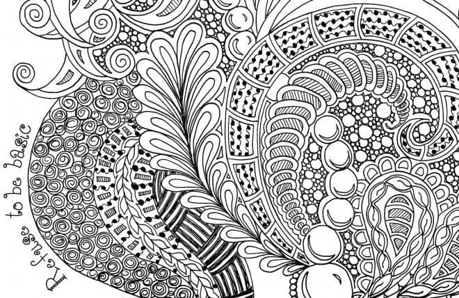 Coloriage et dessins gratuits Art Thérapie symbolisme à imprimer