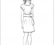 Coloriage dessin  Célébrités 8