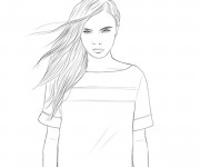 Coloriage dessin  Célébrités 9