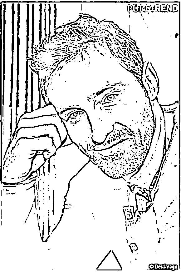 Coloriage et dessins gratuits Célébrités Acteur Canadien à imprimer