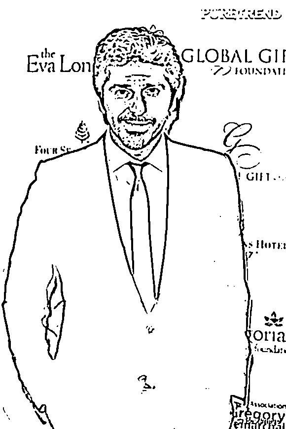 Coloriage et dessins gratuits Célébrités Américain à imprimer