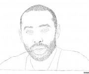 Coloriage et dessins gratuit célébrités Chanteur à imprimer