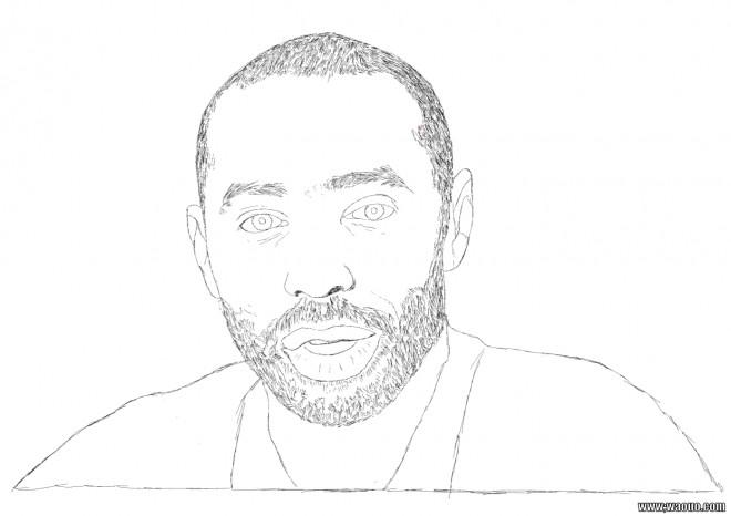 Coloriage et dessins gratuits célébrités Chanteur à imprimer