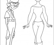 Coloriage et dessins gratuit célébrités Dessin animé à imprimer