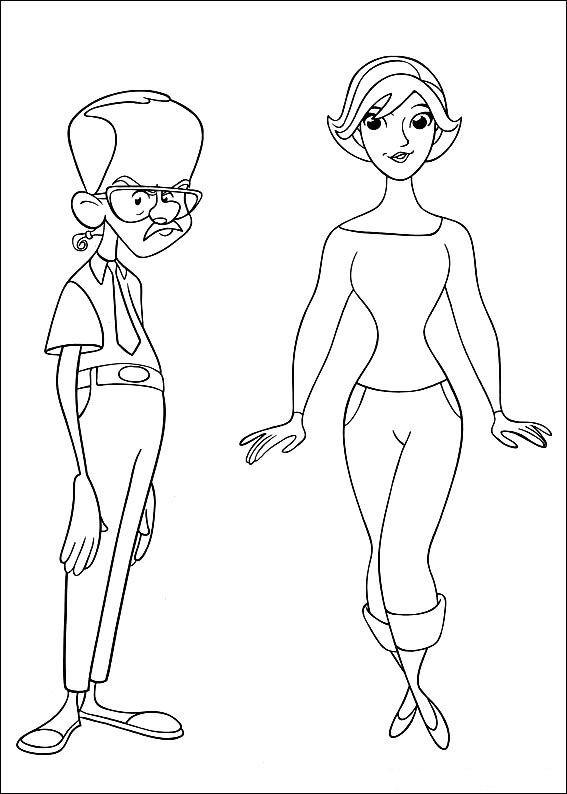 Coloriage et dessins gratuits célébrités Dessin animé à imprimer